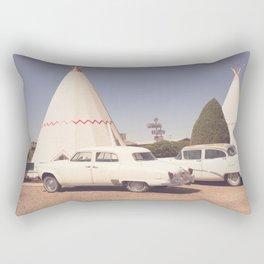 Sleep at the Wigwam Rectangular Pillow