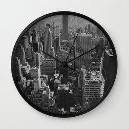 New York City Print Wall Clock