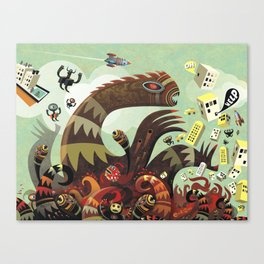 Tsuna me  Canvas Print