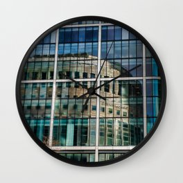 London Photography Canary Wharf Reuters Wall Clock