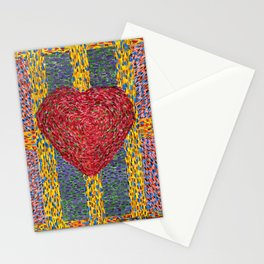 High Energy Heart 5 Stationery Cards