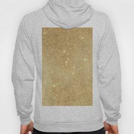 Elegant stylish faux gold glitter Hoody