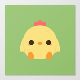 Cute rooster Canvas Print