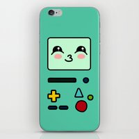 bmo iPhone & iPod Skins featuring BMO by Janice Wong