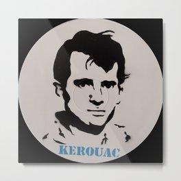 Jack Kerouac Record Painting Metal Print