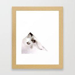 Mount I Framed Art Print