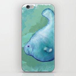 Big Fat Manatee iPhone Skin