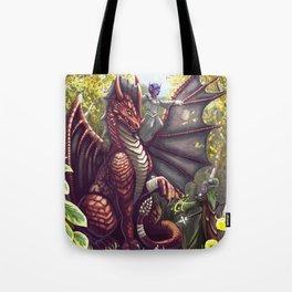 Mending the Dragon Tote Bag