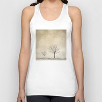 bokeh Tank Tops featuring Snow Bokeh Wonderland  by Laura Ruth