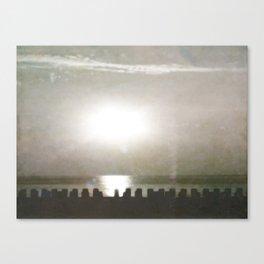 Lazy Summer Sunrise Canvas Print