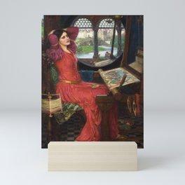 "John William Waterhouse - ""I am half sick of shadows"" said the Lady of Shalott Mini Art Print"