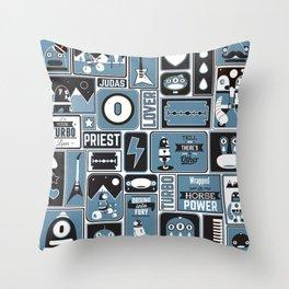 Turbo Lovers Throw Pillow