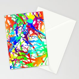 Tickled - white Stationery Cards