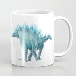 Blue Stegosaurus Coffee Mug