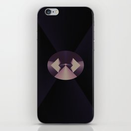 Violetly Simple iPhone Skin