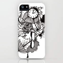Lost track of time... iPhone Case