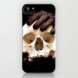 Martin the skull iPhone Case