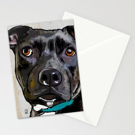 Dog: Staffordshire Bull Terrier Stationery Cards
