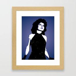 The Lovely Dorothy Vallens Framed Art Print