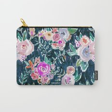Midnight PROFUSION FLORAL Carry-All Pouch