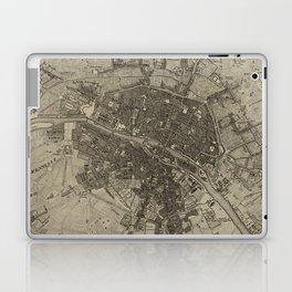 Vintage Map of Paris France (1735) Laptop & iPad Skin