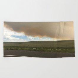 I-25 Storm Beach Towel