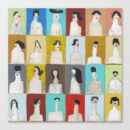 Treinta y Seis Mujeres Canvas Print