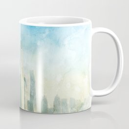 Dubai, UAE Skyline Coffee Mug