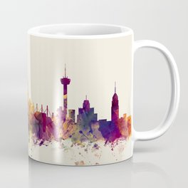 San Antonio Texas Skyline Coffee Mug