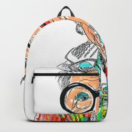 Iris Apfel Backpack