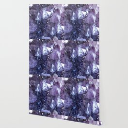 Amethyst Crystal Cluster Wallpaper