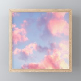 Whimsical Sky Framed Mini Art Print