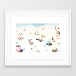 beach XXI Framed Art Print