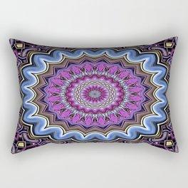 Abstract 124 ( Dearg Doom ) Rectangular Pillow