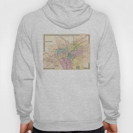 Vintage Map of Dayton Ohio (1872) Hoody