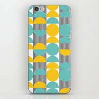 60s iPhone & iPod Skins featuring 60s pattern 02 by Ioana Luscov