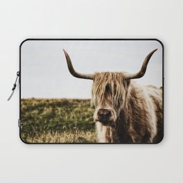 Highland Cow - color Laptop Sleeve