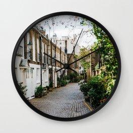 London, England 18 Wall Clock