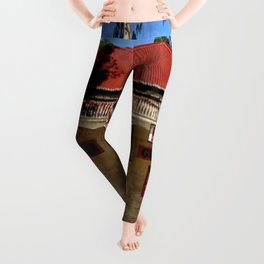 Old Tailem Bend - Australia. Leggings