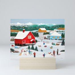 Winter Memories Mini Art Print