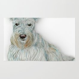 Wheaten Scottish Terrier Rug