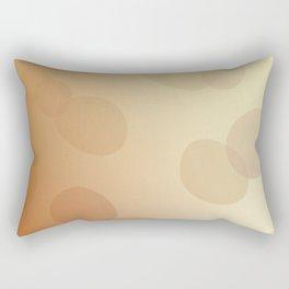SIMPLE DOTS BLUE ON WHITE Rectangular Pillow