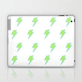 Bolt- Lime Green Laptop & iPad Skin