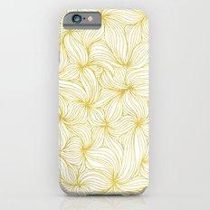 Golden Doodle floral Slim Case iPhone 6s