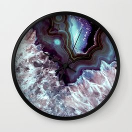 Ocean Blues Quartz Crystal Wall Clock