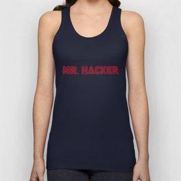Mr. Hacker Unisex Tank Top