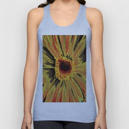 Burned Out Unisex Tank Top
