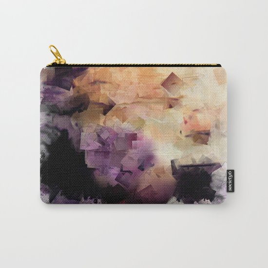 Abstract cubism pattern no. 2 Carry-All Pouch