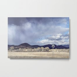 """Purple Hills Horizon"" by Murray Bolesta! Metal Print"