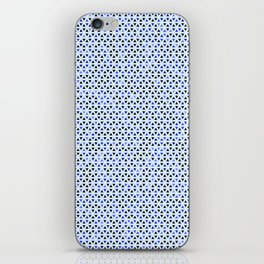 Blue Triangles iPhone Skin